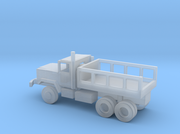 1/144 Scale M925 Short Bed Cargo Truck in Smooth Fine Detail Plastic