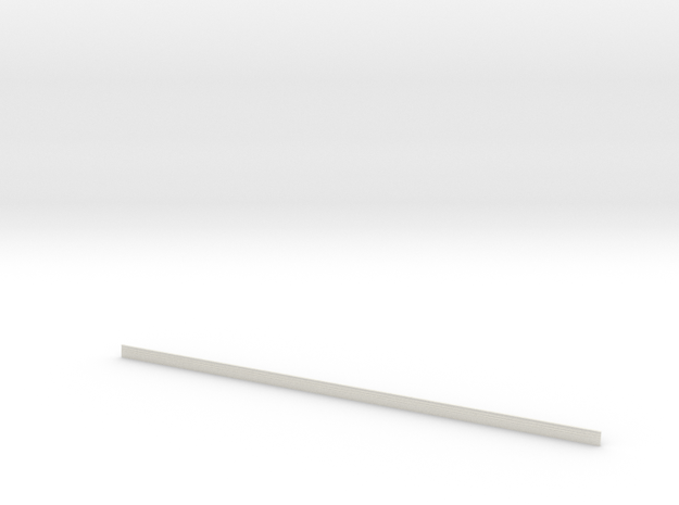 Skirting board in White Natural Versatile Plastic