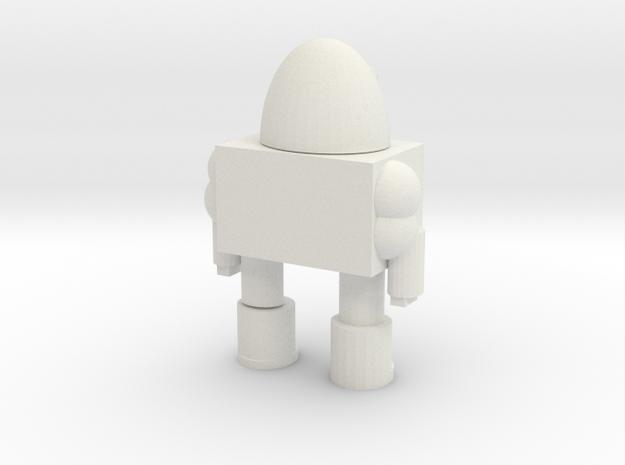 106102240 Doll in White Natural Versatile Plastic