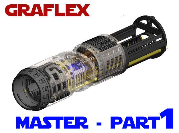 Graflex Master Chassis - Part 1/5 - Main Chassis in White Natural Versatile Plastic