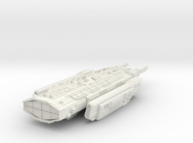 Ancient Corvette clas ship - 210 mm hollow in White Natural Versatile Plastic