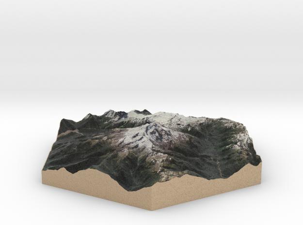 10cm Full-Color Model of Glacier Peak