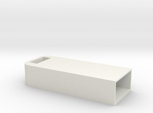 USB case in White Natural Versatile Plastic