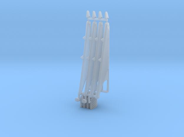 Grid Fins and landing legs Falcon 9 v1.2 Block 4