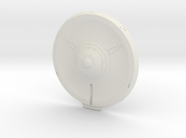 Star Trek 1400 Scale Phase 2 Saucer  in White Natural Versatile Plastic