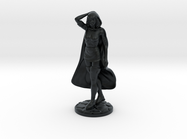 Sheila of D&D 33.8mm Tall in Black Hi-Def Acrylate