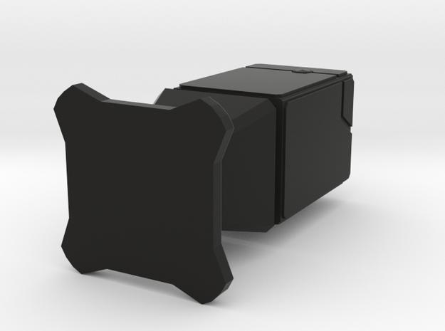 Virturoid - Hollow Version in Black Natural Versatile Plastic