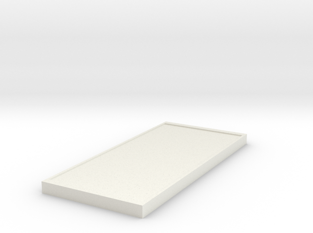 106102231-3 Cellphone in White Natural Versatile Plastic