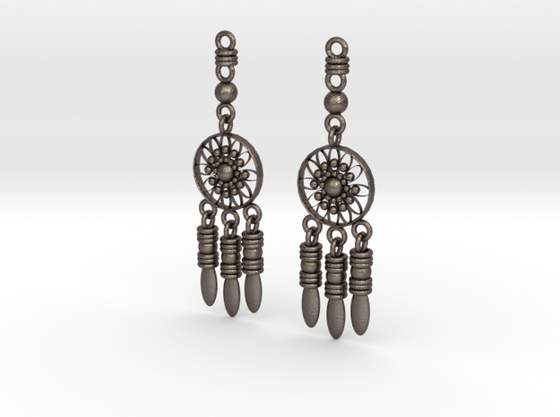 BLOOM in Polished Bronzed Silver Steel