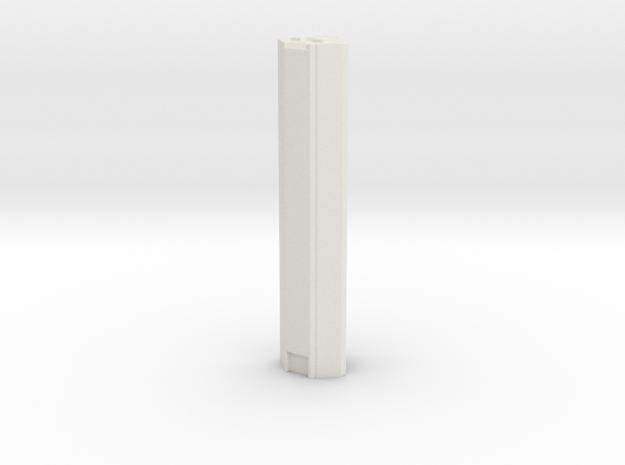 JP Morgan Chase Tower - Houston (1:4000) in White Natural Versatile Plastic