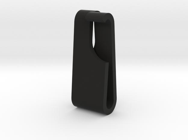 Bag Strap Clip Small in Black Natural Versatile Plastic