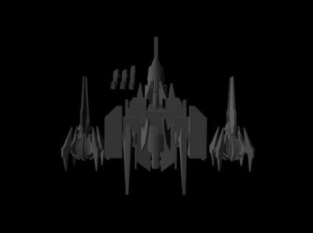 Gal Fighter 2 3d printed Top shot
