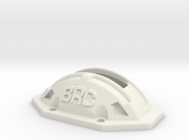 YZ4SF Spur Cover in White Natural Versatile Plastic