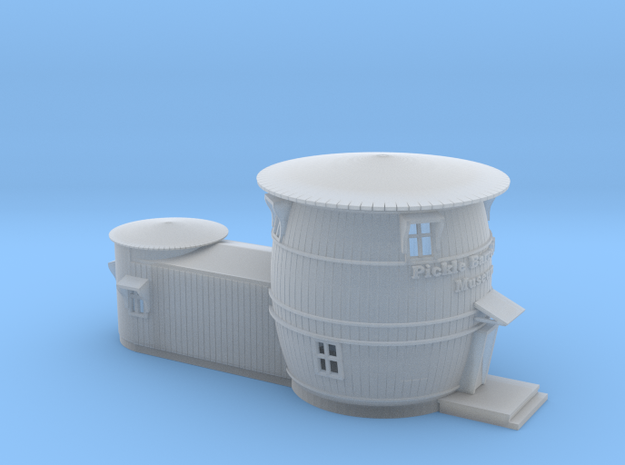 Pickel Barrel House N scale in Smooth Fine Detail Plastic