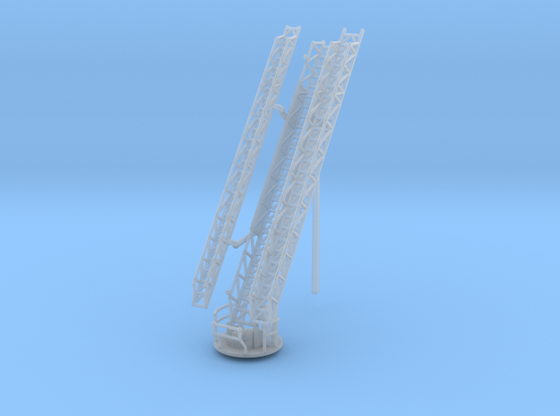 1/160 Raised Tiller/Ladder Boom in Smooth Fine Detail Plastic