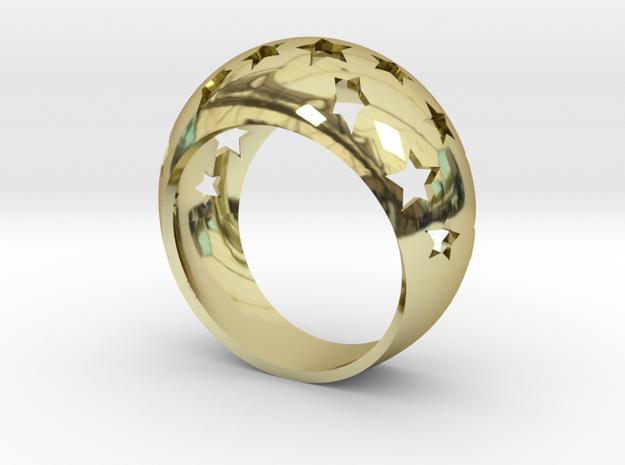 Anello All-Stars in 18k Gold