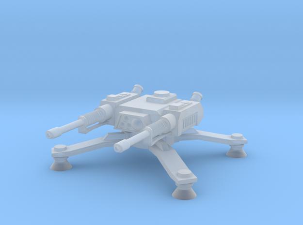 Laser Spider Turret in Smoothest Fine Detail Plastic