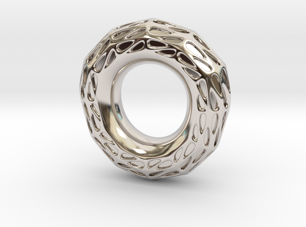 Halo in Rhodium Plated: 5.5 / 50.25