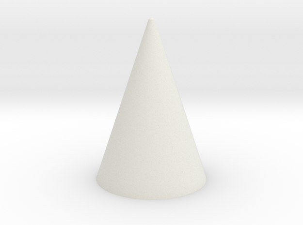 2x3 Spike in White Natural Versatile Plastic