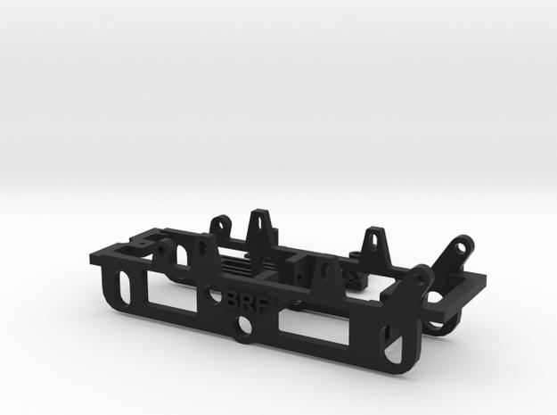 161125 Chasis raid batalla 68mm invertido in Black Natural Versatile Plastic