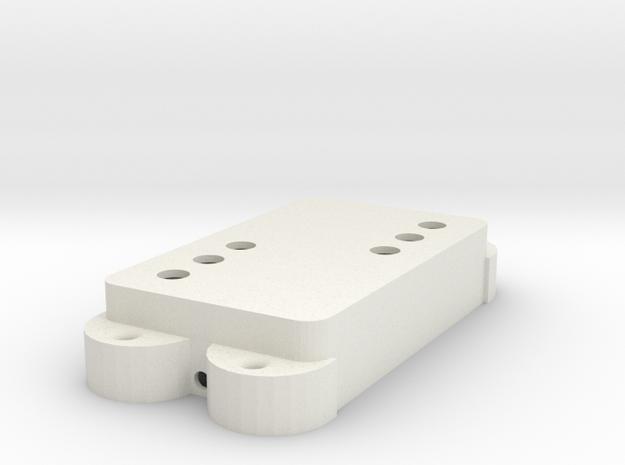 Jag PU Cover, Double, WR in White Premium Versatile Plastic