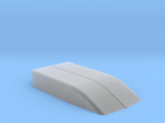 6 INCH COWL in Smooth Fine Detail Plastic