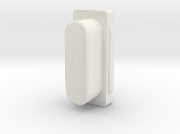 Donkey seat mount guide in White Natural Versatile Plastic