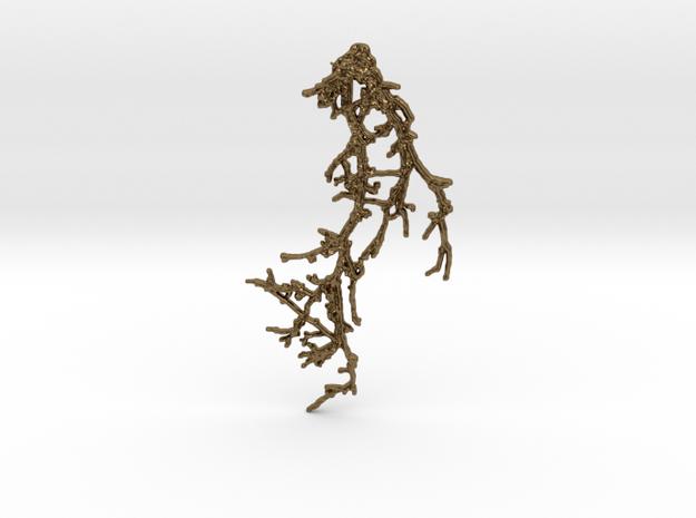 BRANCH_pendant_01 in Natural Bronze