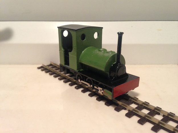 OO9 Southam Cement Peckett in Smooth Fine Detail Plastic