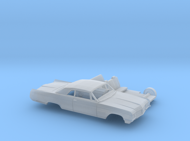 1/120 1964 Buick Wildcat Coupe Kit in Smooth Fine Detail Plastic