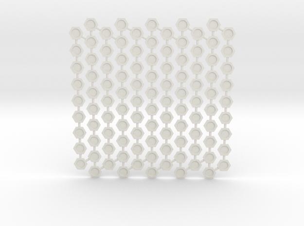Base Inserts: Mark V in White Natural Versatile Plastic