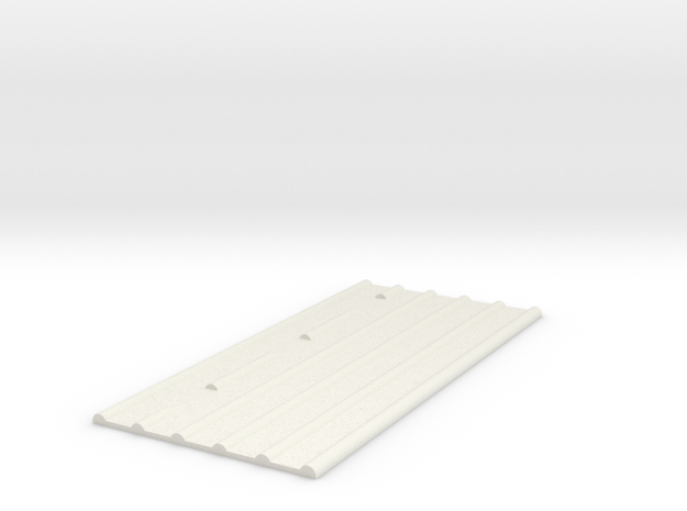 AT-AT Commander Ripple Base Cut out in White Natural Versatile Plastic