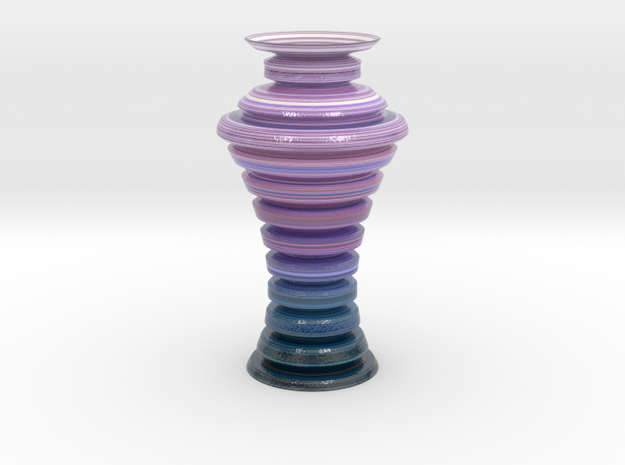 Vase 1894 in Glossy Full Color Sandstone