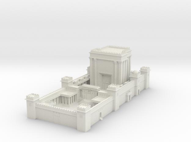 Solomons Temple (Test Acc) in White Natural Versatile Plastic