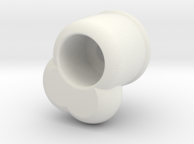 chodeleri recess ed in White Natural Versatile Plastic: Medium