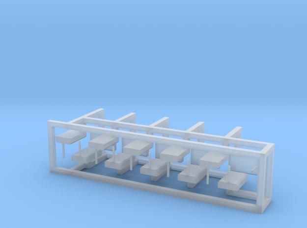 Weichenantrieb funktionslos 15erSet - TT 1:120 in Smooth Fine Detail Plastic