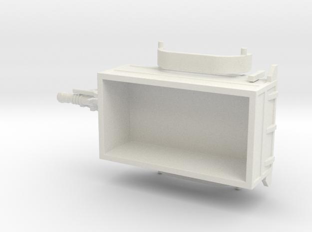 1067 PKW Anhänger HO 1:87 in White Natural Versatile Plastic: 1:87 - HO