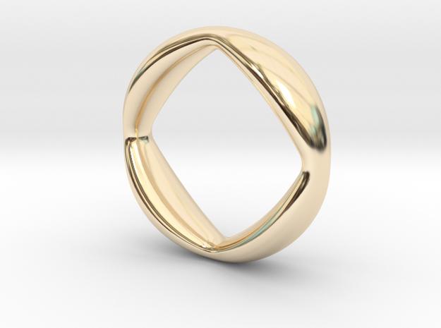 Quatrefoil Ring size M