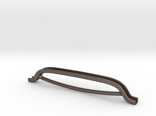 DENISSTOEL GREEP v01-e in Polished Bronzed Silver Steel