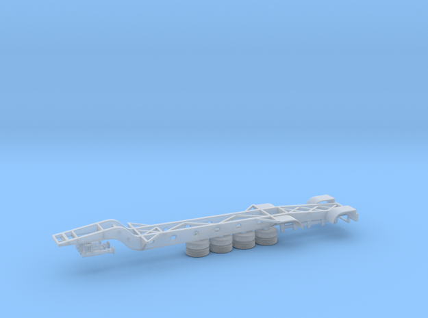 N 43' ISO Tank Container Chassis in Smooth Fine Detail Plastic