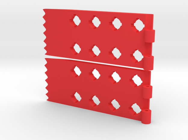 Foldable Sand Ladder  in Red Strong & Flexible Polished