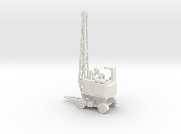 1/120 Coles EMA RAF crane in White Natural Versatile Plastic