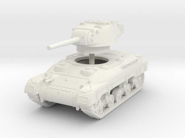 1/72 M7 Medium Tank in White Strong & Flexible