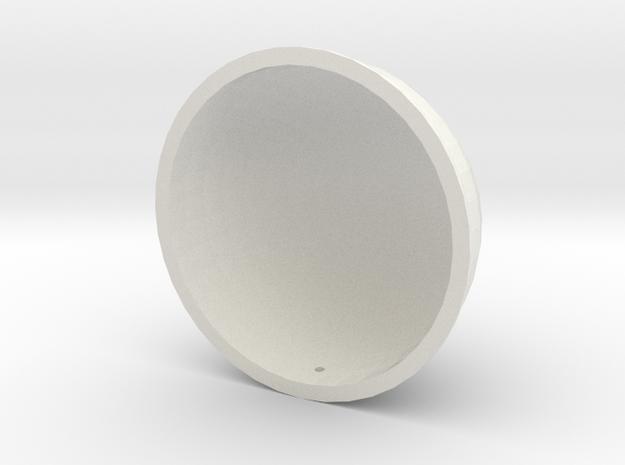 Model Kaiser Helmet in White Natural Versatile Plastic