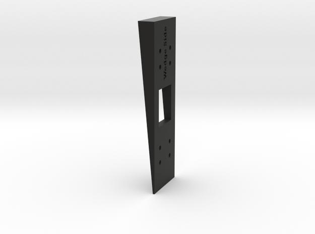 Siding Wedge for Ring Doorbell Pro 70 Degree Wedge in Black Natural Versatile Plastic