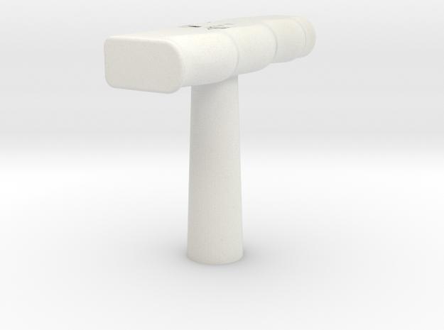 T-Shifter in White Natural Versatile Plastic