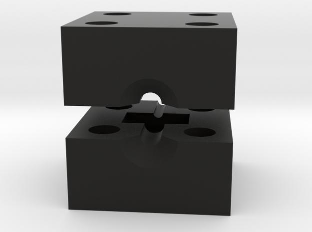 Nub casting mold in Black Natural Versatile Plastic