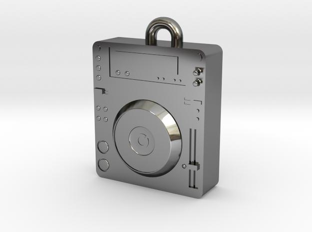 CDJ DJ Pendant 1000 in Premium Silver