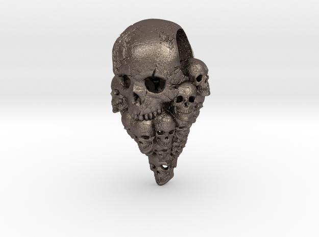 Nuclear Decimation: Skull Pendant