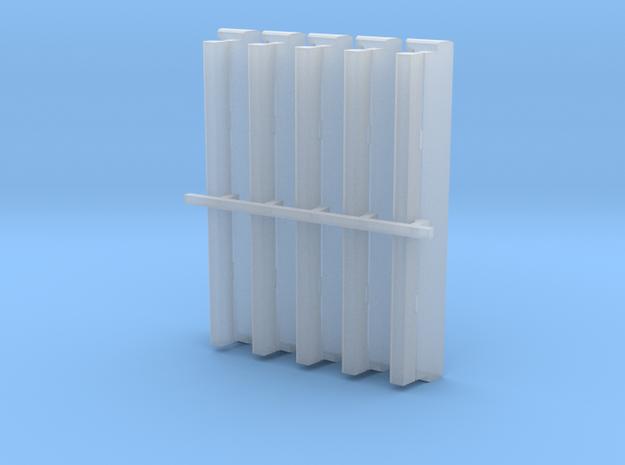 04 222 Knapen 4 5Stk. in Smoothest Fine Detail Plastic